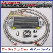 Mocal 25 Row Oil Cooler Kit With Braided Oil Lines Competition